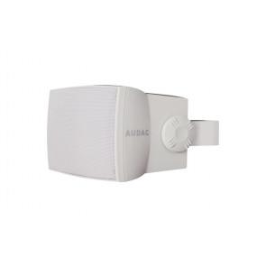 """Audac WX502 5"""" 2-vejs højttaler 50W 100V & 8 Ohm, IP55, hvid"""