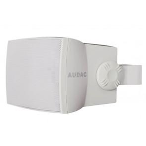 """Audac WX502 5"""" 2-vejs højttaler 50W 100V & 8 Ohm, hvid"""