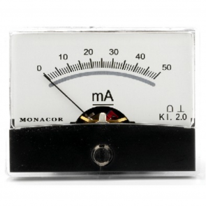 PM-2/50MA Panelmeter 50 mA amperemeter