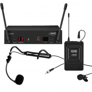 Trådløs mikrofonsæt med lommesender og headset TXS-632Z
