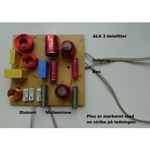 ALS3a højttaler selvbyg system forslag