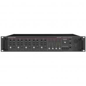 PA-40120 PA-forstærker 4 zoner - kanals mixer forstærker