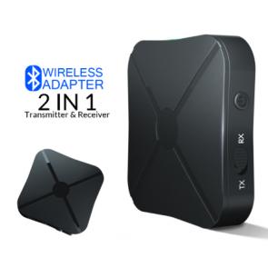 BT2in1 Bluetooth modtager og sender genopladelig