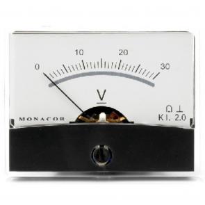 PM-2/30V Panelmeter - Voltmeter 0 - 30 Volt