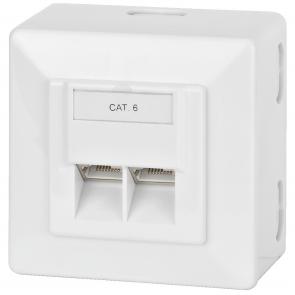 CAT-6JB CAT-6 vægdåse