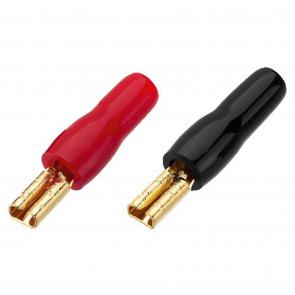 MFC-2028 Guldbelagt kabelsko til højttaler 2,8 mm