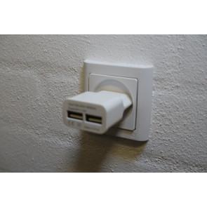 USB lader 2x 1000mA