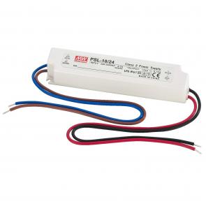 Strømforsyning til LED 24 volt 18 Watt - PSL-18/24