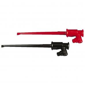 Testpinde med klo, rød og sort - TH-6