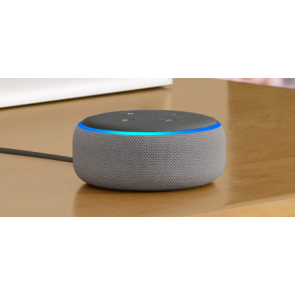 Echo Dot 3rd generation Heather gray