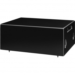 Subwoofer ESUB-6W/SW væghængt sort til både 4 ohm og 100volt
