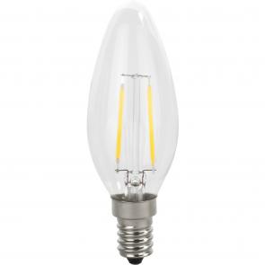 LED E14 lyskilde levende lys effekt - LDC-144DG/WWS