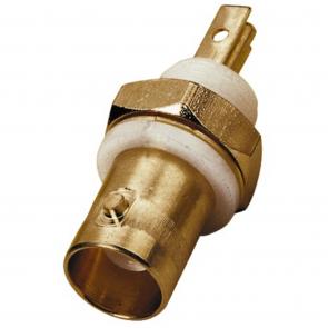 BNC-chassisbøsning guldbelagt - UG-1094B/UG