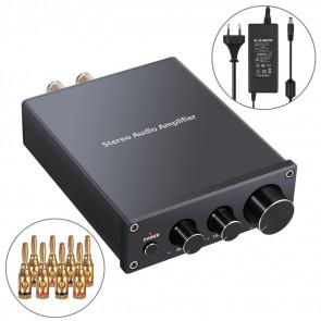 Neoteck stereo integreret klasse D forstærker