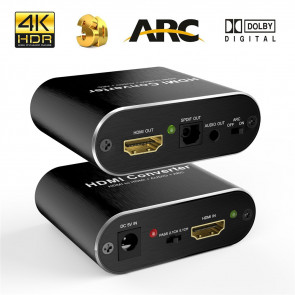 HDMI til analog lyds konverter + Optisk