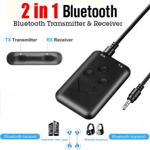 Bluetooth modtager og sender genopladelig