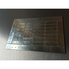 Printplade til delefilter 19 x 14cm