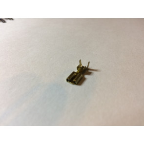 Højttaler Kabelsko alm. 4,8 mm Messing