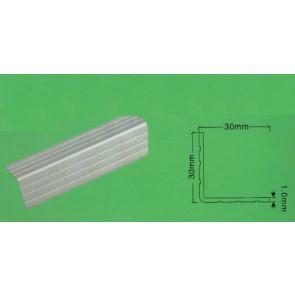 Aluminium kantliste 1 meter