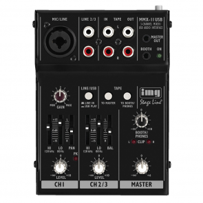 MMX-11USB USB mixer