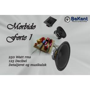 Morbido Forte 1 højttaler system forslag