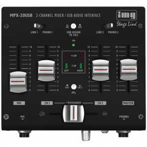 MPX-20USB Mini USB mixer