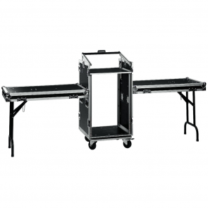 MR-162DESK Flightcase med 2 borde