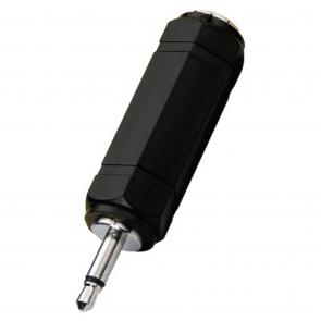 NTA-173 jackstik adapter 3,5 mm han til 6,3 mm hun