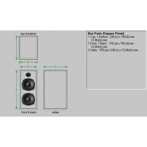 Reol eller boombox højttaler forslag 1