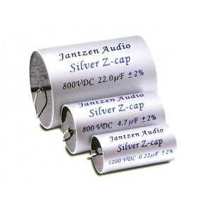 18 uF Silver Z-cap