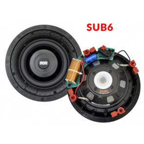 "Earthquake SUB-6 indbygnings 6"" subwoofer 300 watt 8 Ohm"