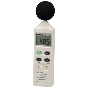 SM-2 Lydtryk og støj måler
