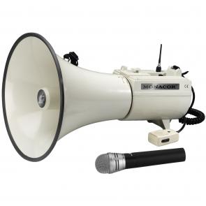 Megafon med trådløs mikrofon