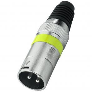 XLR-207P XLR-stik han gul