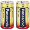 Batteri alkaline C 2 stk - LR-14 panasonic