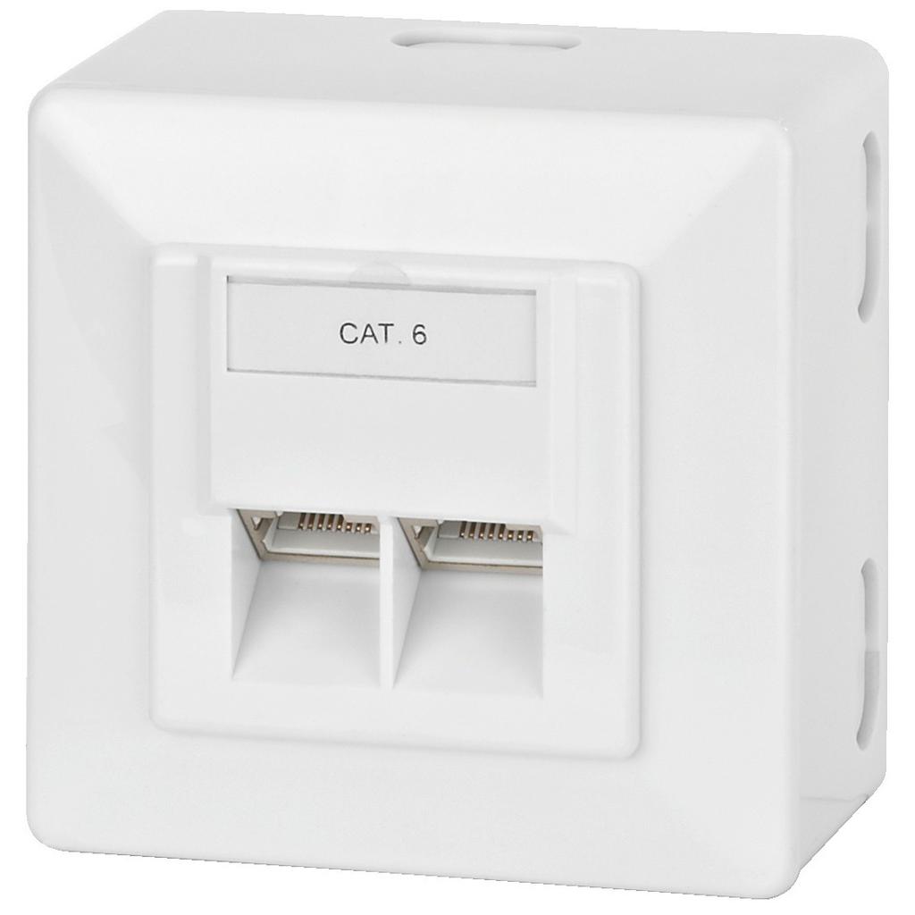 Billede af CAT-6JB CAT-6 vægdåse