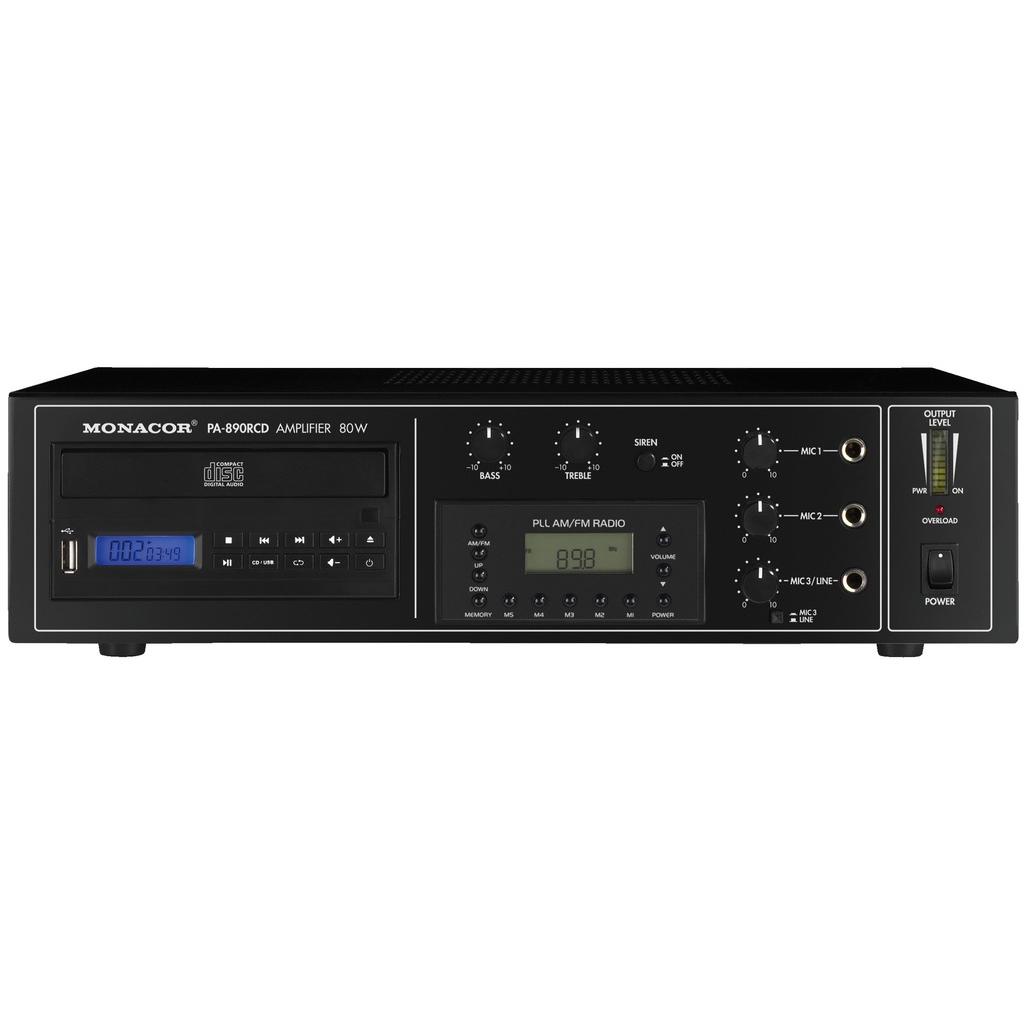 PA-forstærker med CD og radio – PA-890RCD