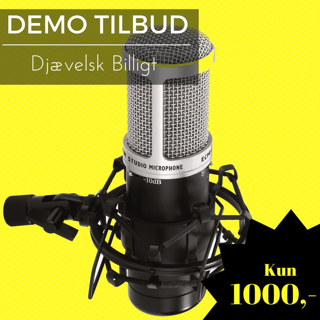 DEMO ECM-170 Studie mikrofon