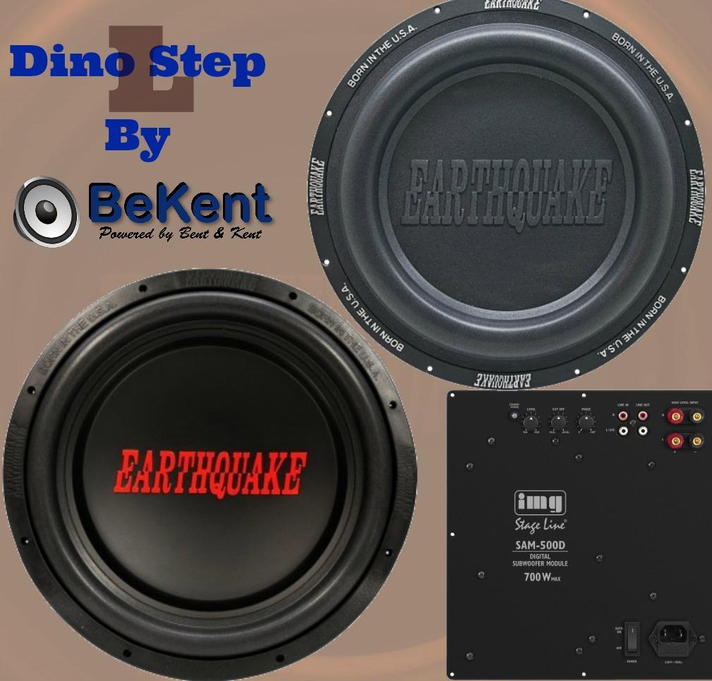 Dino Step L hjemmebiograf subwoofer 119dB og 20Hz
