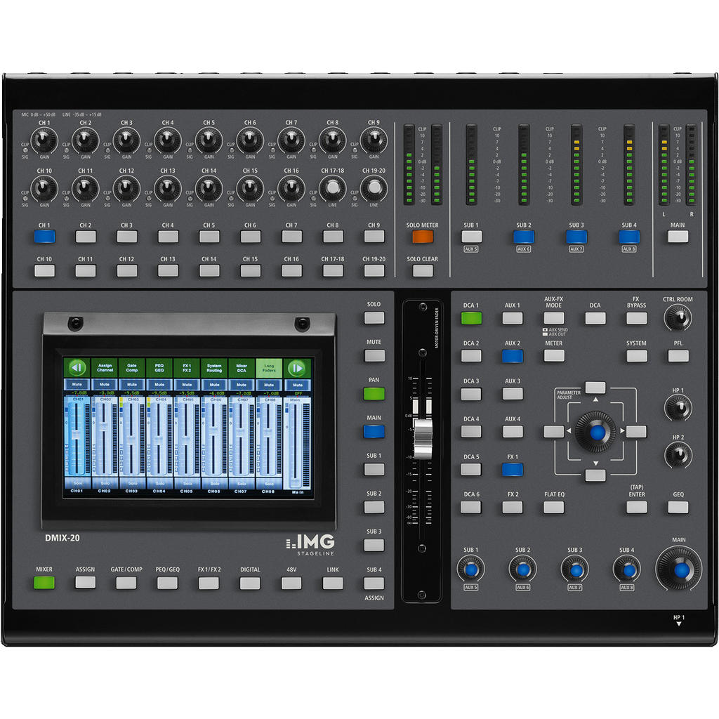 Digitalmixer - DMIX-20