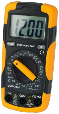 Digitalt mulitimeter - DMT-2004