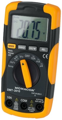 Digitalt multimeter - DMT-2010