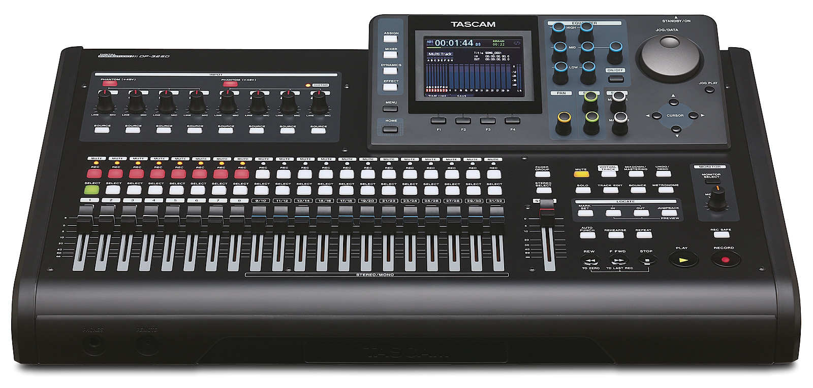 Tascam DP-32SD Digital 32 track recorder