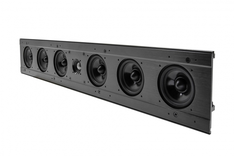 Line-array indbygnings højttaler EWS-LA-63