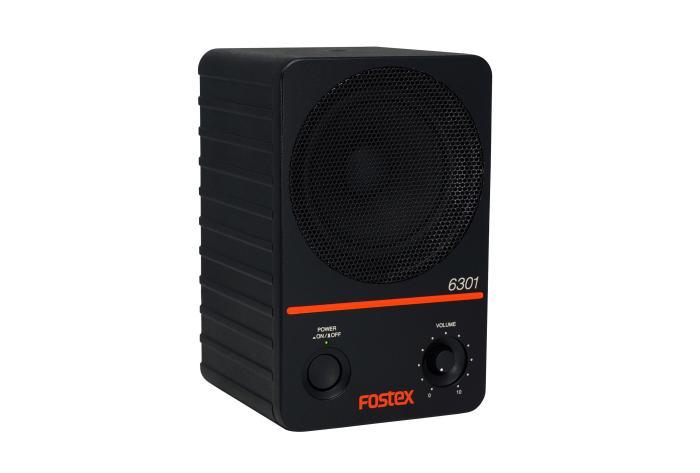 Fostex 6301ND aktiv højttaler, ubalanceret + AES/EBU