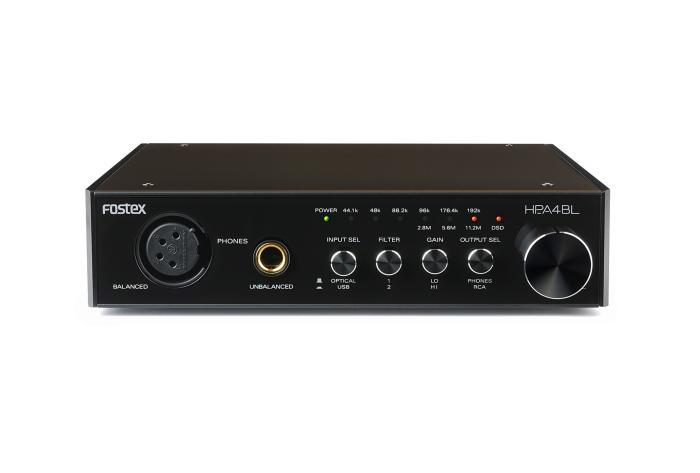 Fostex HP-A4L Hovedtlf. forstærker 24 bit 192 kHz DAC