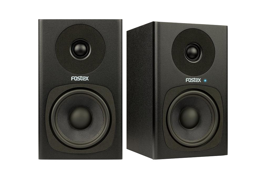Fostex PM0.4d Studiomonitor-sæt a 2 stk, Sort