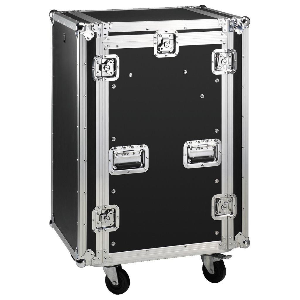 Image of   MR-162 Flightcase 10+16U med hjul