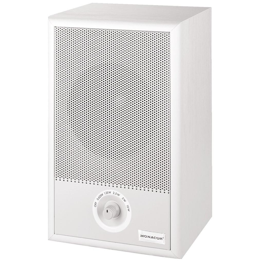ELA-højttaler med volumekontrol - EUL-75/WS