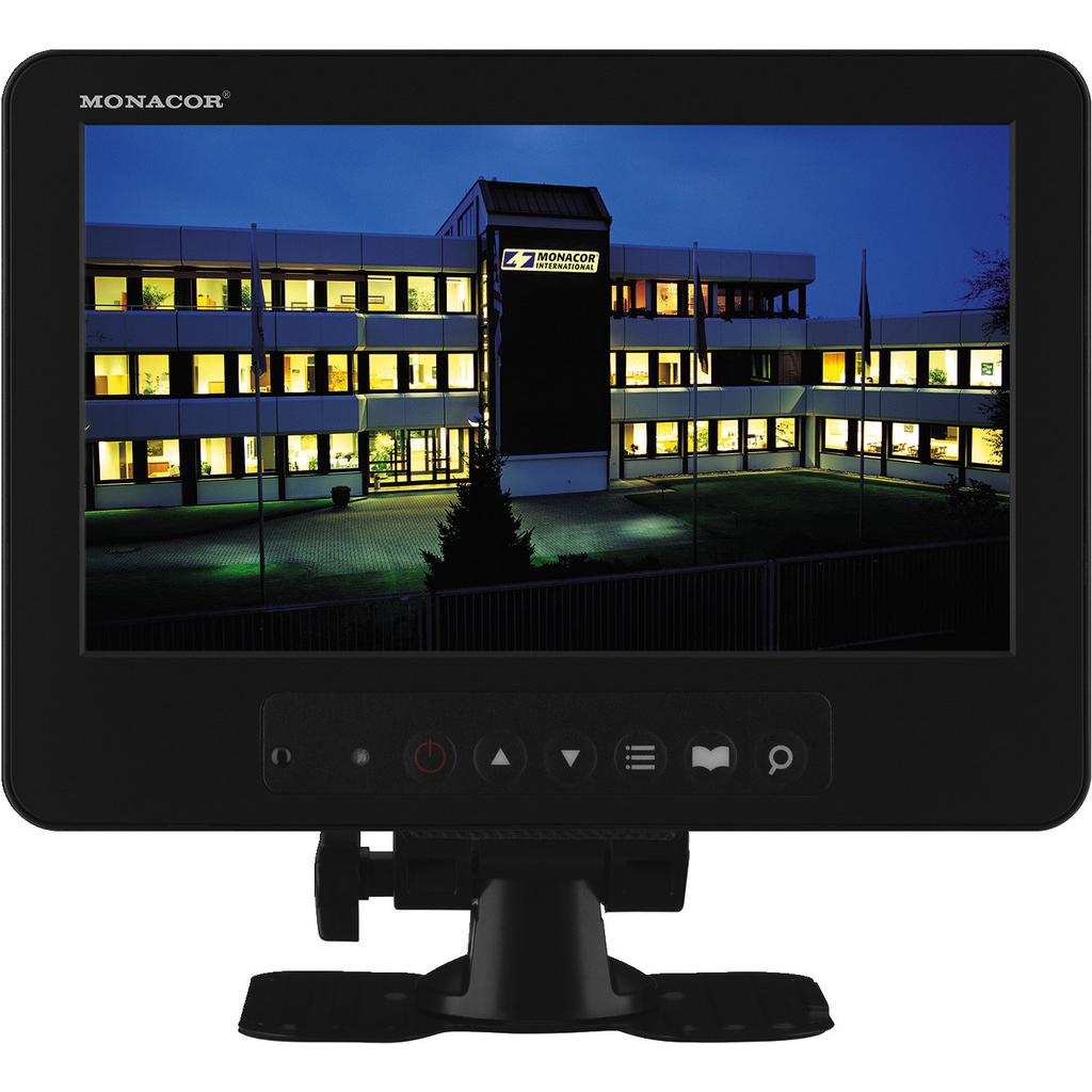 """Image of   Monitor til overvågning 8"""" - TFT-800LED"""